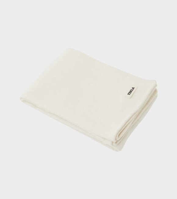 Tekla - Pure New Wool Blanket Snow White