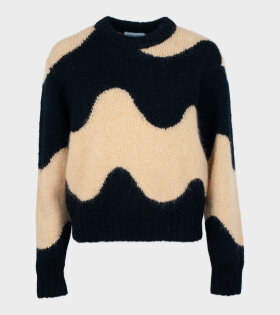 Marimekko - Disjunktio Lokki Knit Black