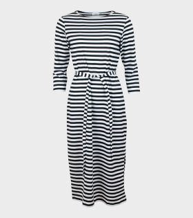 Ilma Dress Black/White