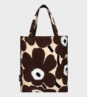 Notko Pieni Unikko Tote Bag Brown