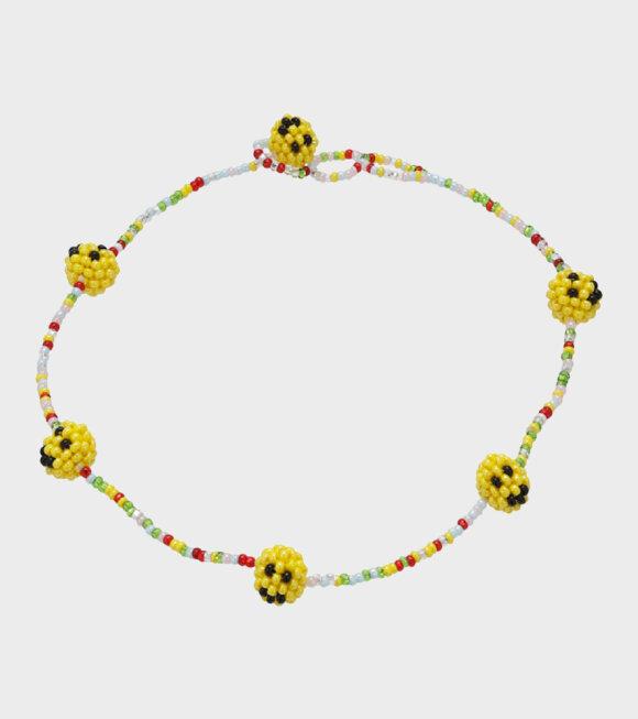 Pura Utz - Smiley Color Necklace Multi