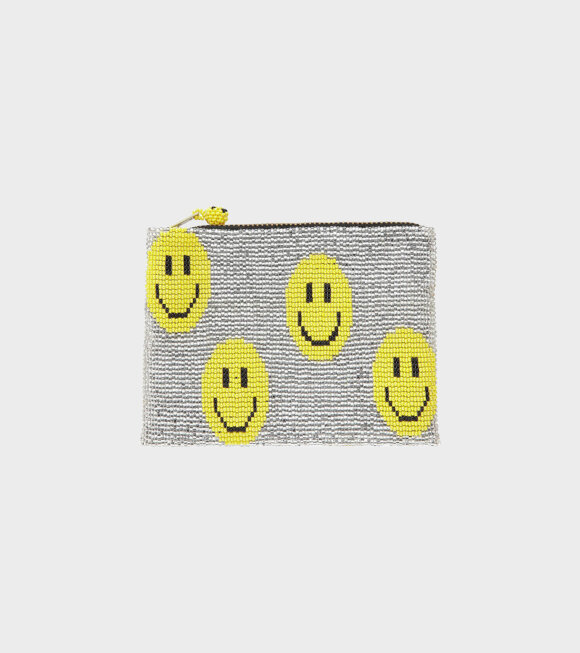 Pura Utz - Smiley Wallet Yellow