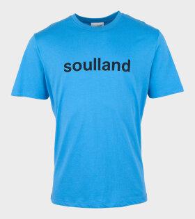 Soulland - Chuck T-shirt Blue
