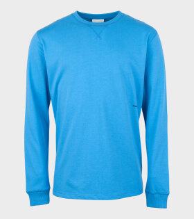 Soulland - Noah Long Sleeve T-shirt Blue