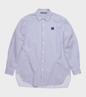 Saco New Stripe Face Shirt Blue