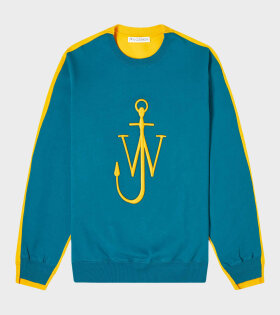 Deconstructed Fleece Blue/Yellow