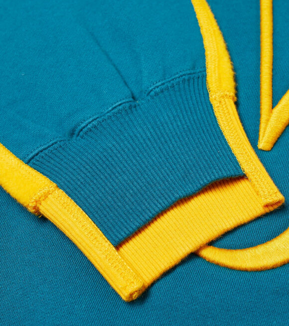 JW Anderson - Deconstructed Fleece Blue/Yellow