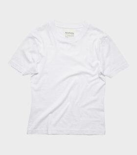 Edie Pink Label T-shirt White