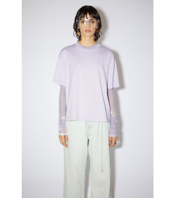Acne Studios - Edie Pink Label T-shirt Purple