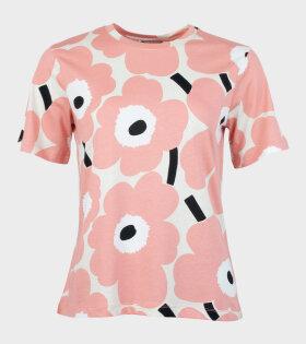 Marimekko - Kautta Unikko T-shirt Pink