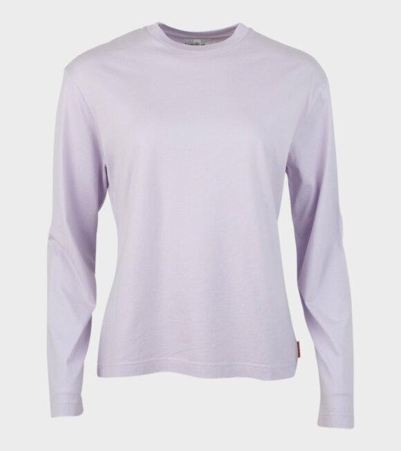 Acne Studios - Ecca Pink Label T-shirt Purple