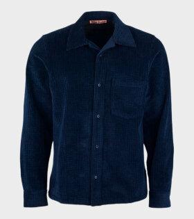 Denver Cord Shirt Blue