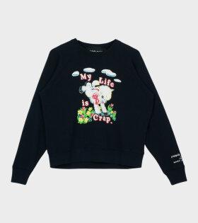 The Magda Sweatshirt Black