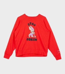 The Magda Sweatshirt Red