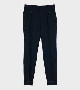 Zipper Pants Blue