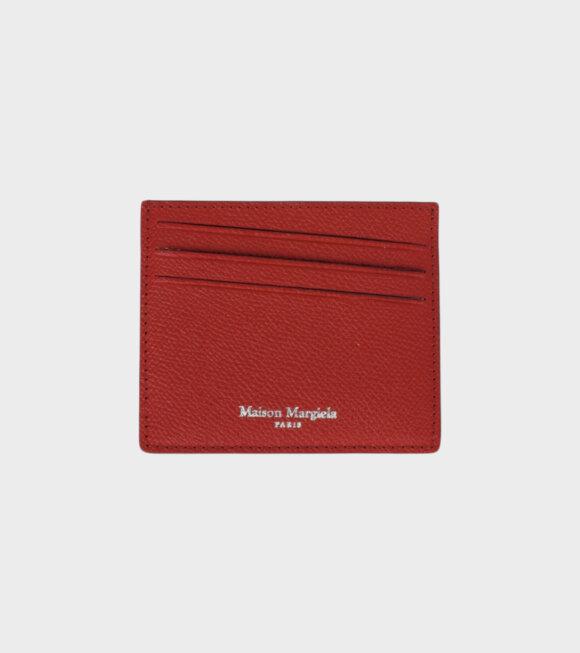 Maison Margiela - MM6 Wallet Red
