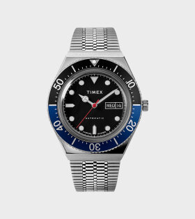 Timex - Diver Style Automatic Watch Silver