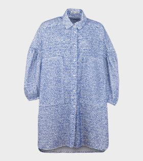 Henrik Vibskov - Moment Shirt Dress Blue/White