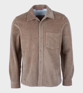 Denver Cord Shirt Brown