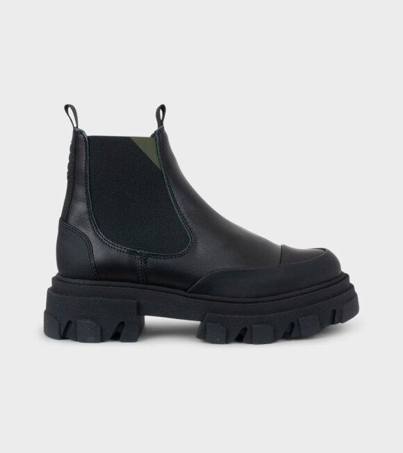 Ganni - Low Chelsea Boot Black