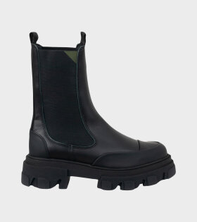 Mid Chelsea Boot Black