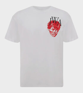 JW Anderson - Embroidered Face JWA T-shirt White