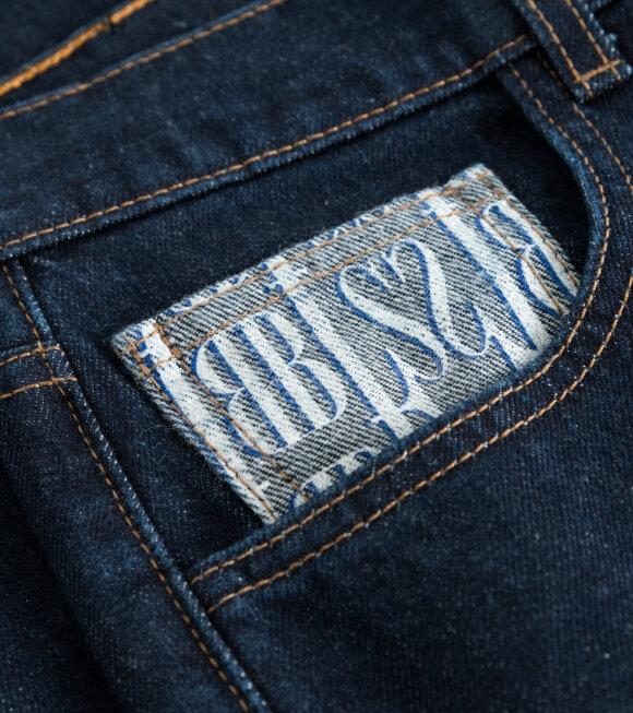BLS - Smoke Jeans Raw Washed Denim