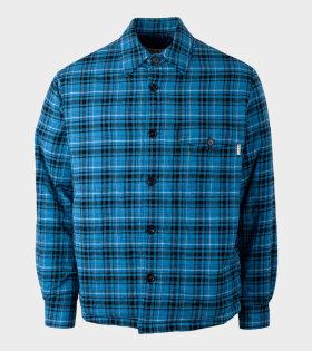 Marni - Checked Jacket Blue/Black
