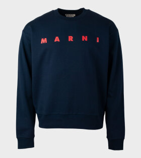 Marni - Logo Sweat Navy