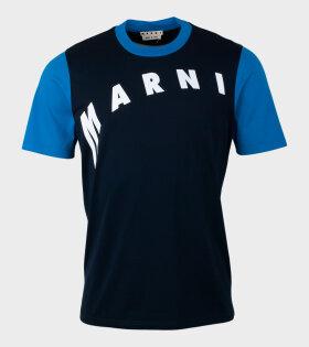 Marni - Logo T-shirt Blue