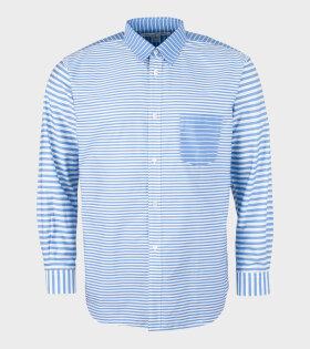 Striped Shirt Light Blue/White