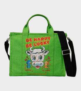 The Magda Tote Bag Green