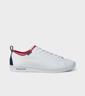 Miyata Shoes White/Blue/Red