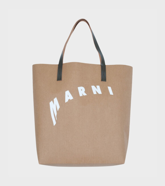 Marni - Medium Shopping Tote Bag Brown