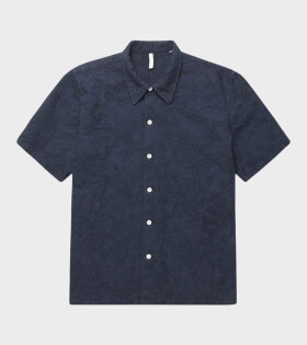 Space Shirt SS Navy