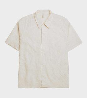 Space Shirt SS Cream