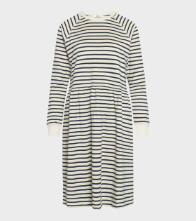 Bretagne Drekka Dress Cream/Navy