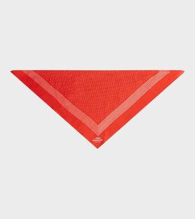 Asli Bandana Dots Red/Off White