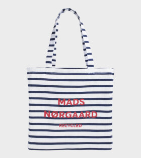 Athene Recycled Boutique Striped White/Navy