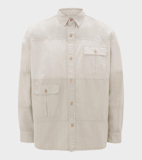 Relaxed Multi Pocket Shirt Sand