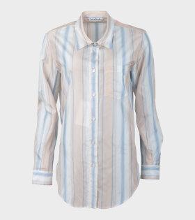 Acne Studios - Sophi Bag Stripe Shirt Multicolour