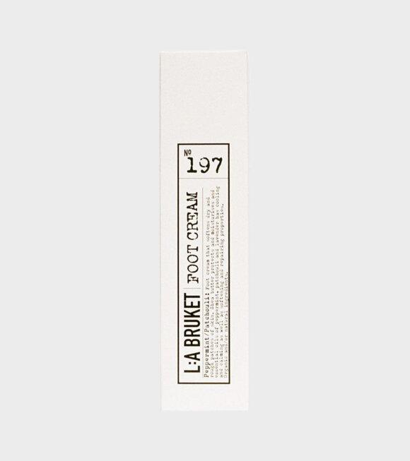 L:A Bruket - 197 Foot Cream Peppermint/Patchouli