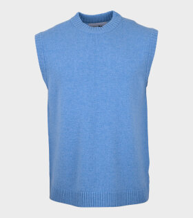 Wool Vest Blue