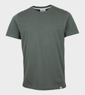 Niels Standard T-shirt Moss Green