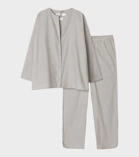 Pyjamas Poplin Ash