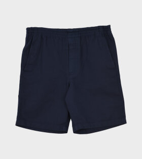 Evald Canvas Work Shorts Navy