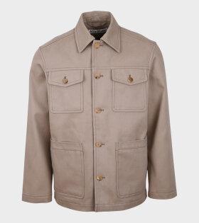 Cotton Jacket Hazel Beige