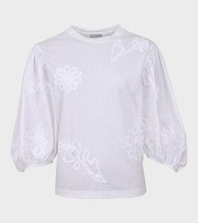 Clay Flower T-shirt White