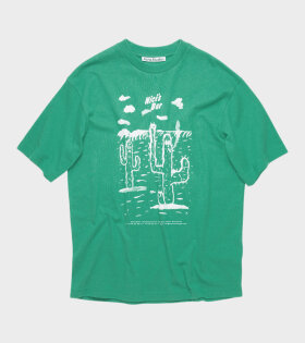 Acne Studios - Extorr Bar T-shirt Emerald Green