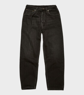 Acne Studios - 1991 Toj Loose Fit Jeans Vintage Black